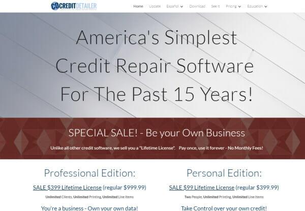 Credit Detailer Credit repair software review