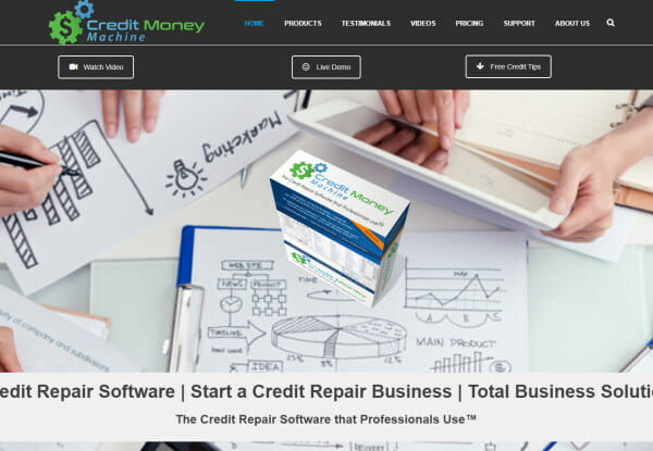 Start a credit repair business with Credit Money Machine