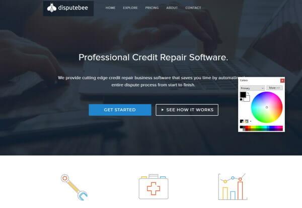 Dispute Bee Professional Credit Repair Software