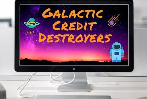 image of a credit repair website