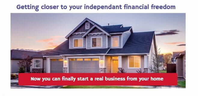 Image of a house for starting your credit repair business at home