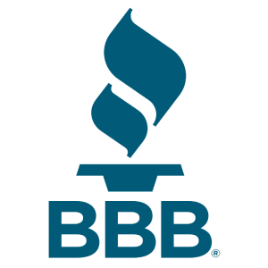 BBB ratings compared Sky Blue Credit versus Lexington Law