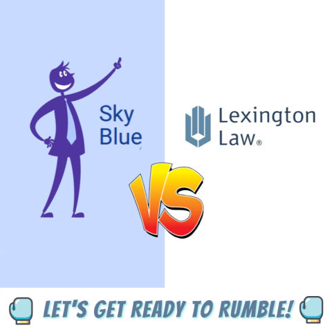 Sky Blue Credit Repair against Lexington Law