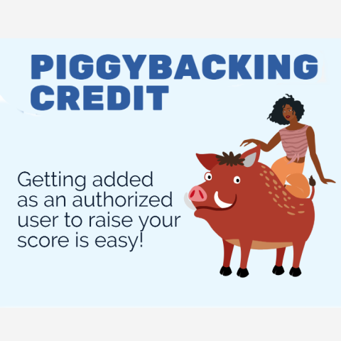 All about piggybacking credit