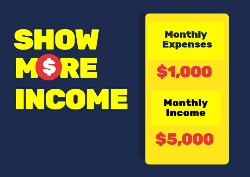 Show more income to increase your fico score into the 800s