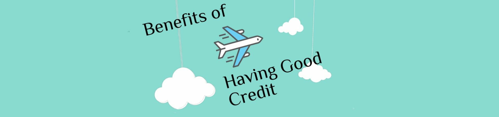 Having a good credit score is important because.