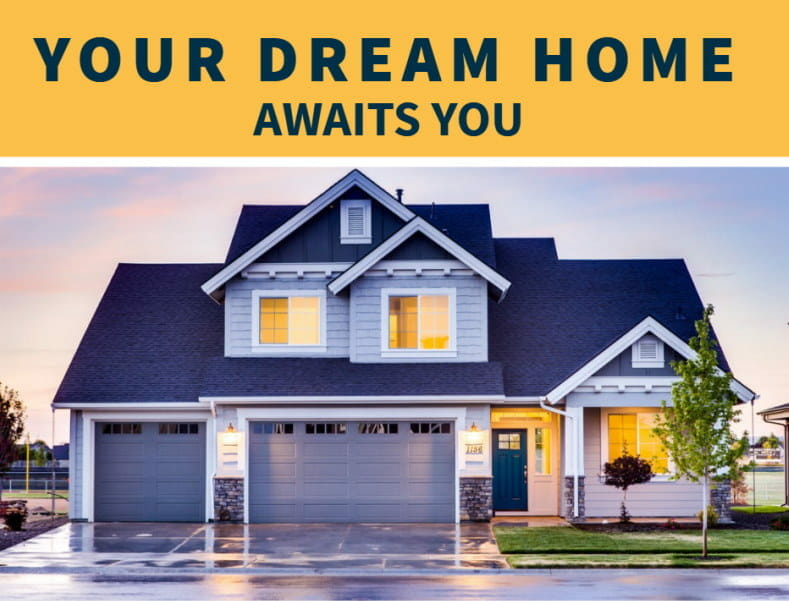 Having a good credit score is important because it can help enable you to get into your dream home