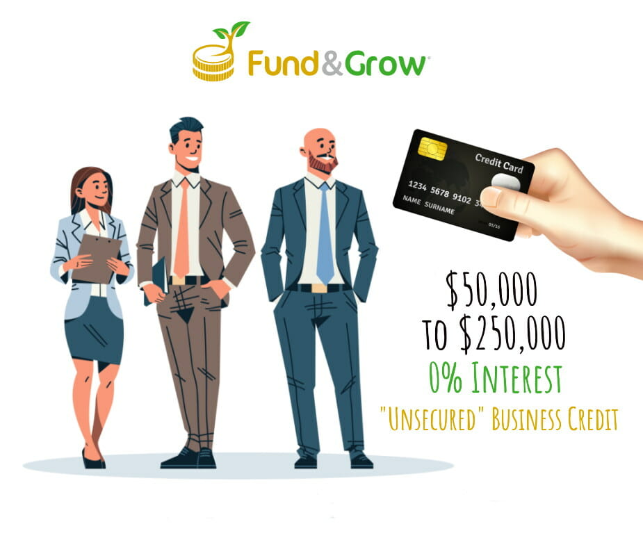 Fund and grow review of whether or not you can can get unsecured, zero interest business credit with no collateral